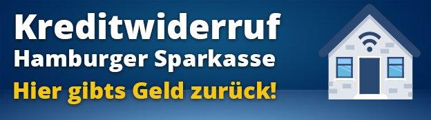 Kreditwiderruf der Hamburger Sparkasse